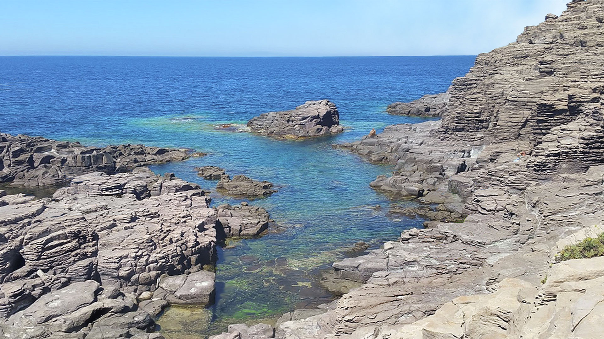 Isola di San Pietro, La Conca