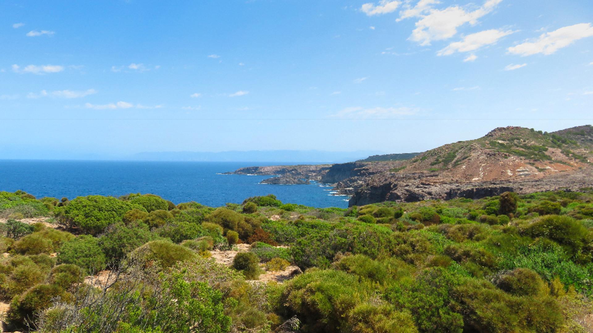 Isola di San Pietro, Punta-delle-Oche.