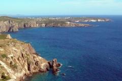 Isola di San Pietro, Lo-Spalmatore visto dal Becco.